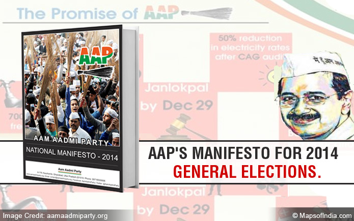 Aam Aadmi Party (AAP) Manifesto for 2014 Lok Sabha Elections