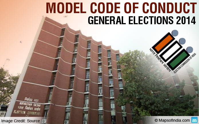 What is the Model Code of Conduct for 2014 Election