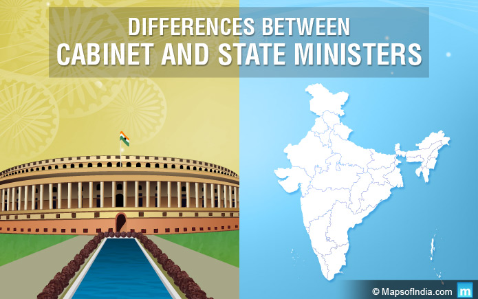 Differences Between Cabinet and State Ministers