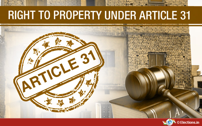 Article 31 of the Constitution of India