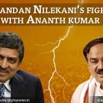 Fierce Political Battle Between Nandan Nilekani and Ananth Kumar