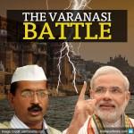 arvind kejriwal and narendra modi varanasi battle