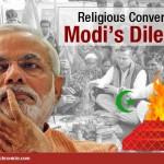 Modi's dilemma over religious conversion