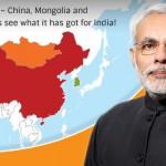 Narendra Modi on a Three-Nation Tour again to China, Mongolia and South Korea