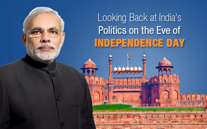 India's Politics on the Eve of Independence Day