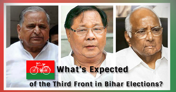What's Expected of the Third Front in Bihar Elections?