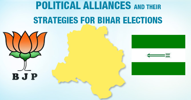 Political Alliances and Their Strategies for Bihar Elections