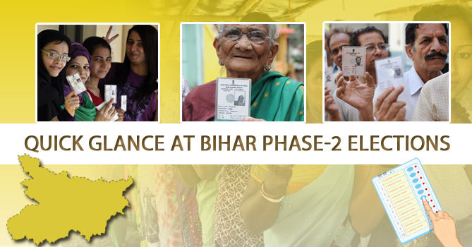 Quick Glance at Bihar Phase-2 Elections