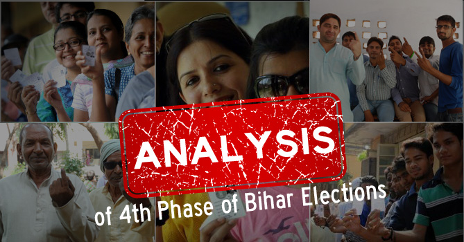An analysis of 4th Phase of Bihar Elections