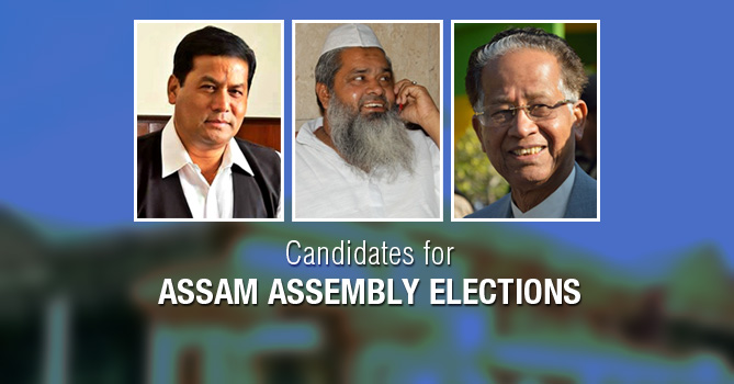 Candidates for Assam Assembly Elections