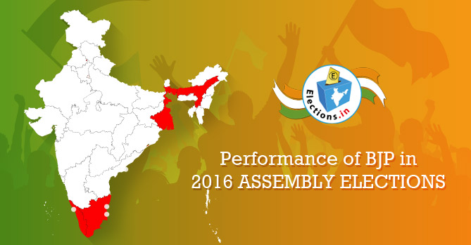 BJP performance in 2016 assembly elections