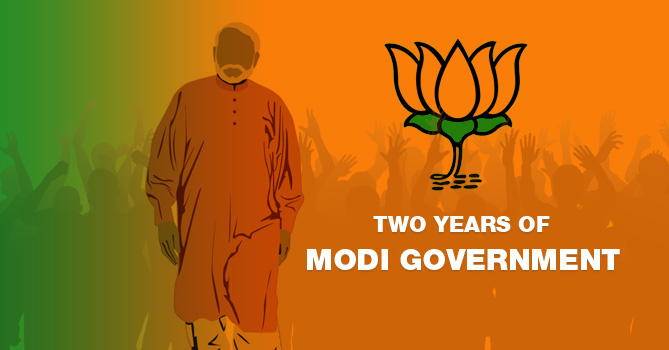 Two Years of Modi Government