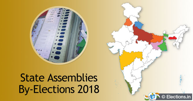 State Assemblies By-elections 2018