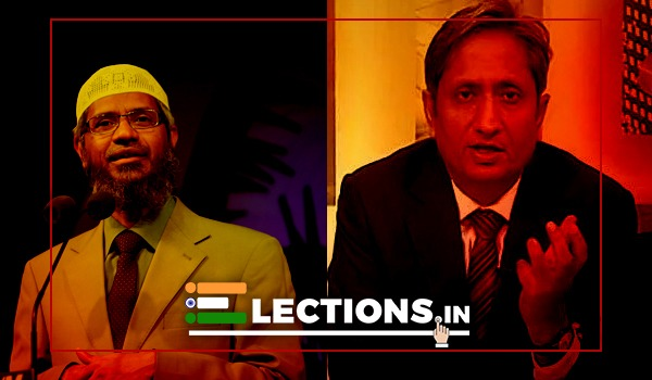 Zakir Naik and Ravish Kumar